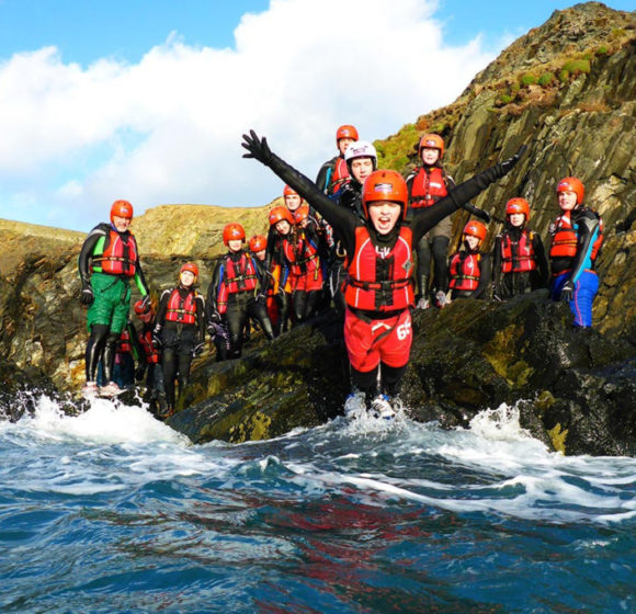 Coasteering for the girls!