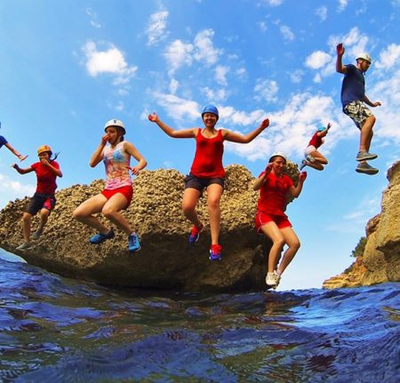 Coasteering for kids!